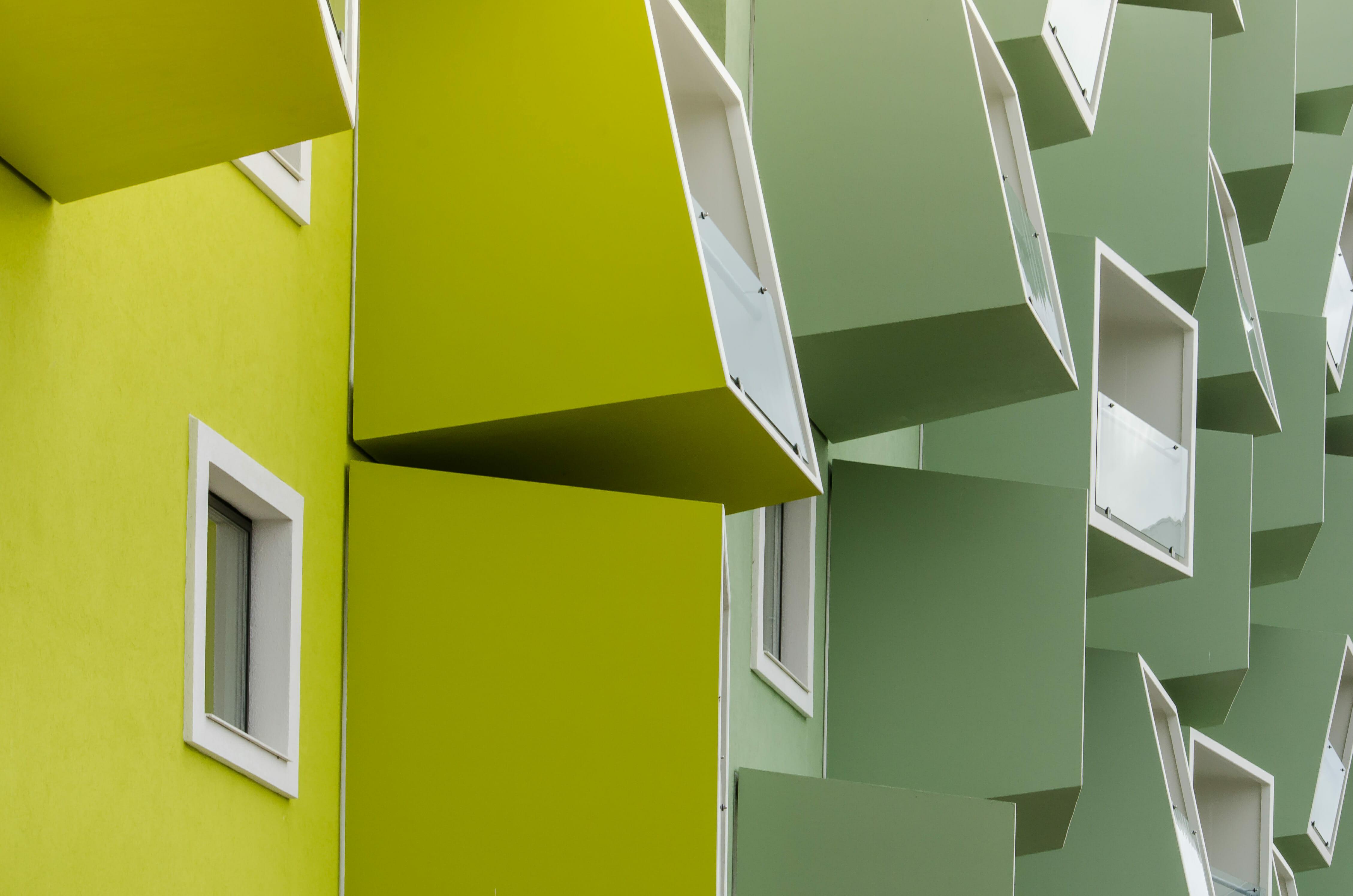 Zdjecia nowowczesnej architektury wielorodzinnej